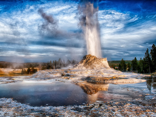 Geyser Parco Yellowstone