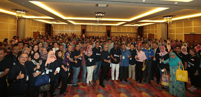 Source: 1MET. Over 500 participants attended the 1MET bootcamps in Kota Kinabalu.
