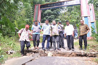 Dusun Cipari Desa Margacina Masuk Zona Merah Bencana