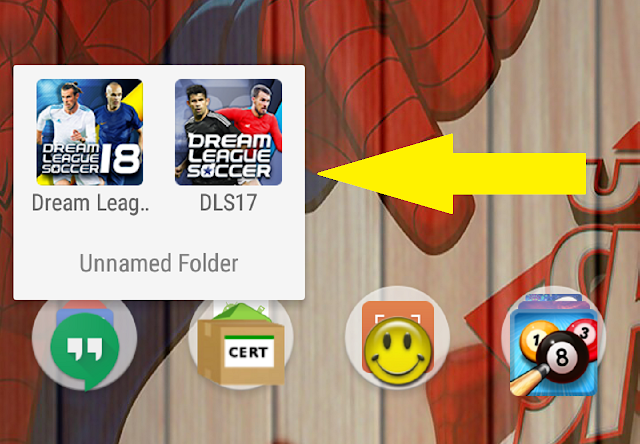 Tutorial !! Cara Install 2 Dream League Soccer dalam 1 Device DLS 2017 & DLS 2018