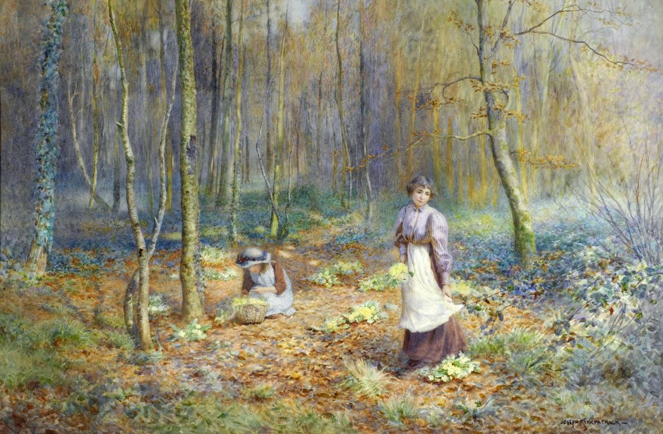 Victorian British Painting Joseph Kirkpatrick