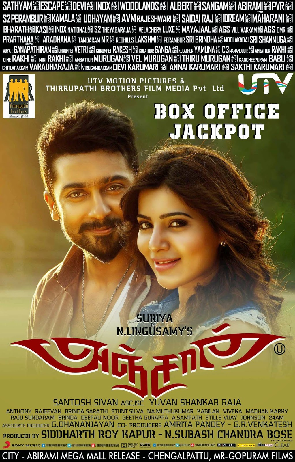 Surya-and-samantha-in-anjaan-images