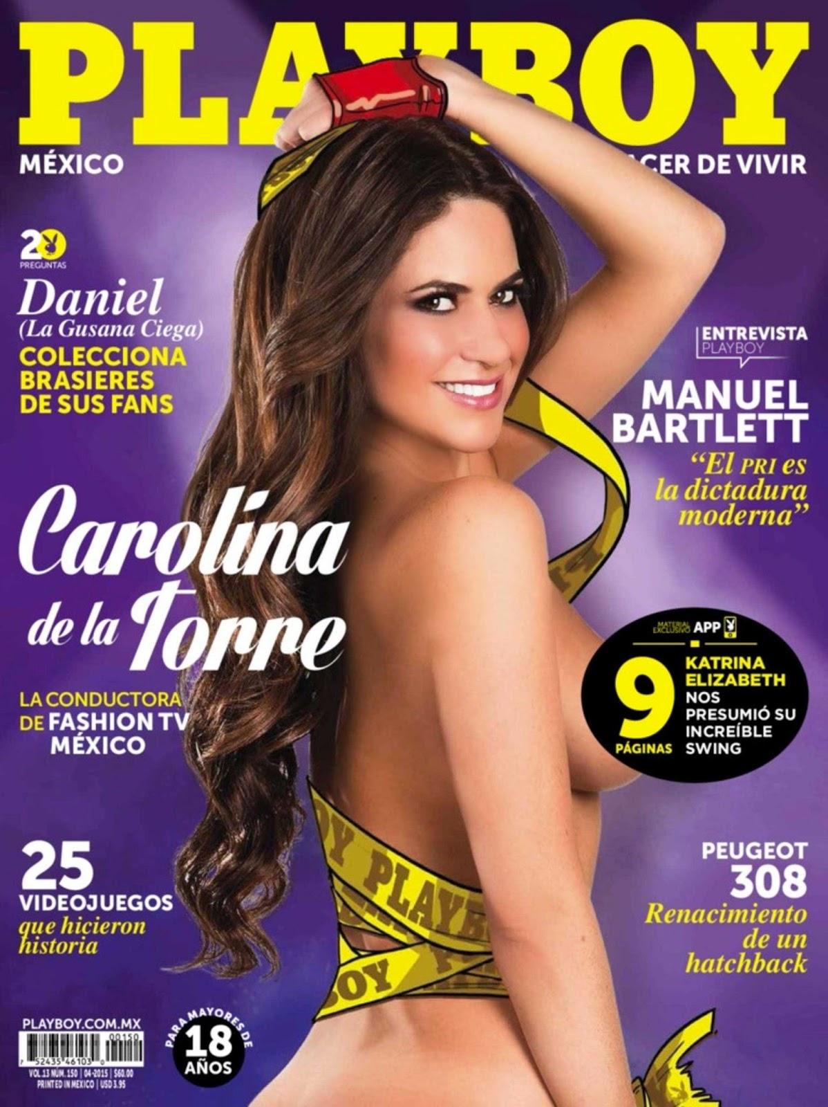 Carolina de la Torre On The Cover Of Playboy Magazine
