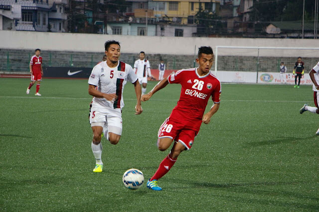 Mohun Bagan held by Shillong Lajong FC in second leg