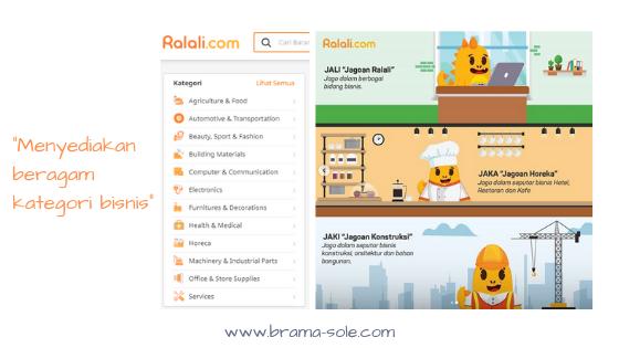 Ralali.com menyediakan beragam kategori bisnis