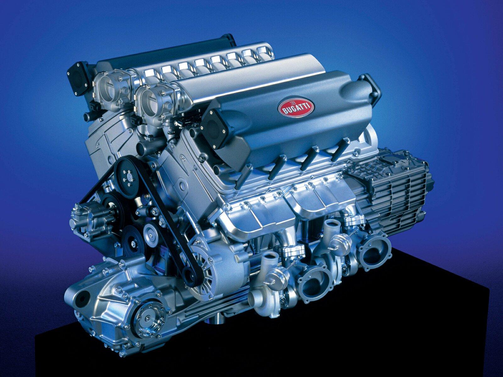 bugatti veyron super engine sport supersport motor fastest w16 sports power el production ever cars specs
