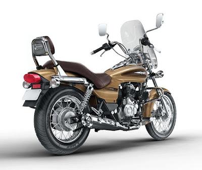 2016 Bajaj Avenger 220 Cruise bike back hd image
