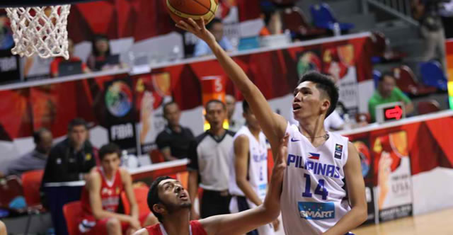 List of Gilas Pilipinas Under 16 Lineup 2015 FIBA Asia U16 Championship