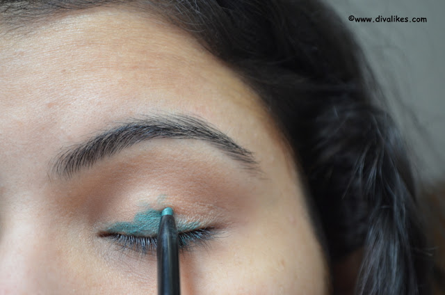 Avon Glimmersticks Eyeliner Pencil Green