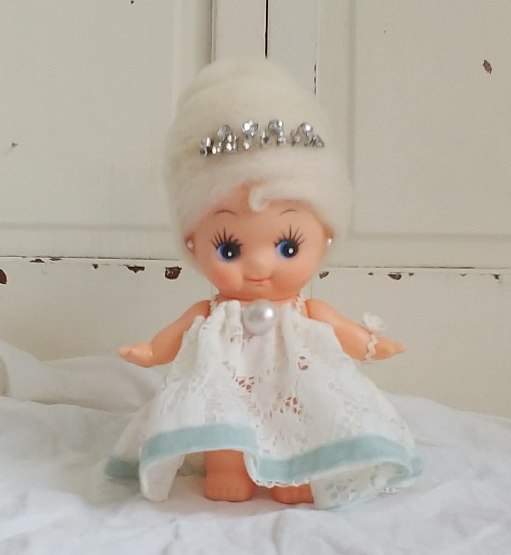 Kewpie doll Marie Antoinette makeover