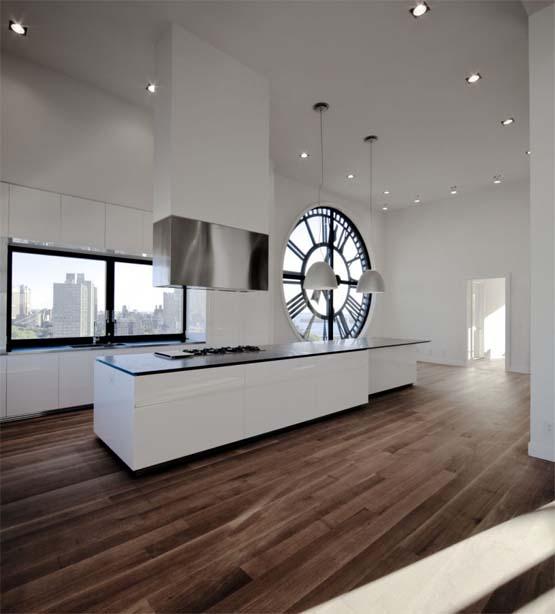 Hogares frescos ideas de cocinas con los dise os m s frescos - Reloj cocina diseno ...