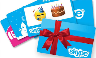 Skype Gift Card 10, 25 USD Global, North America
