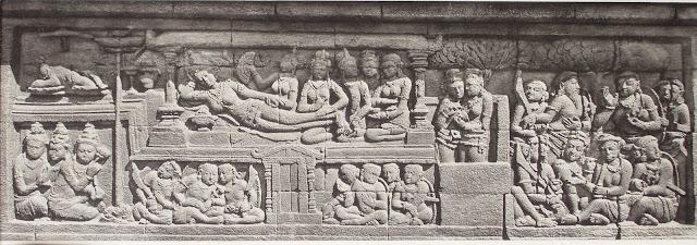 Relief Candi Borobudur - Jamu Ayu Malang