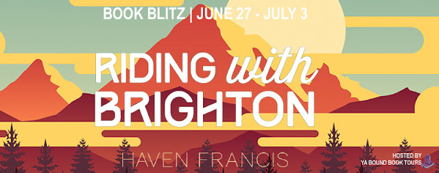 {Excerpt+Giveaway} Riding with Brighton by Haven Francis