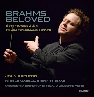 Brahms Beloved - John Axelrod: TEL-34658-02