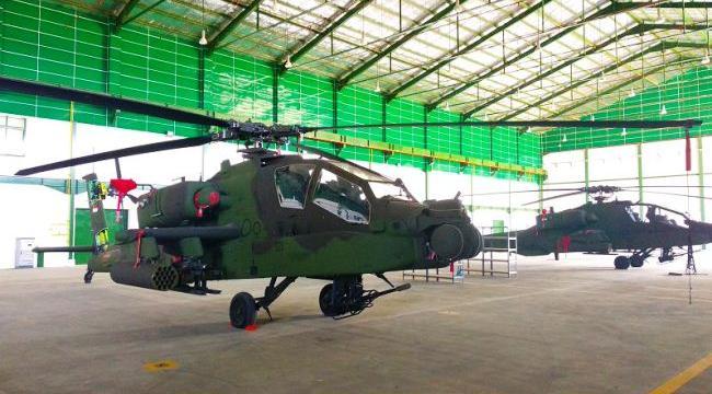 Helikopter Apache TNI AD
