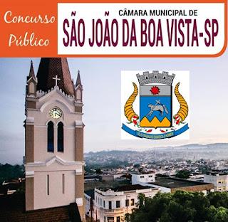Apostila da Câmara de São João da Boa Vista 2019 - TÉCNICO LEGISLATIVO e ANALISTA LEGISLATIVO.