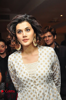 Taapsee Pannu Gorgeous smile at Pink Press Meet