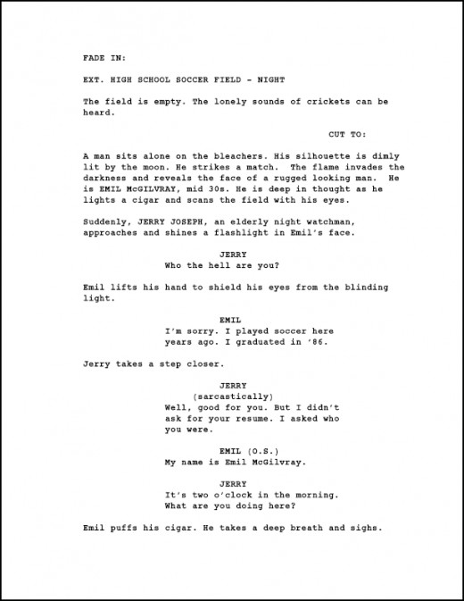 Sample Movie Treatment - Example Story Synopsis For A Film Script