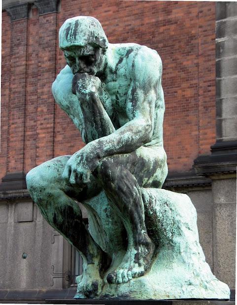 Solitary Dog Sculptor Sculpture - Escultura Auguste
