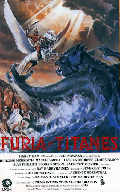 Furia de titanes / Clash of the Titans - 1981 (película)