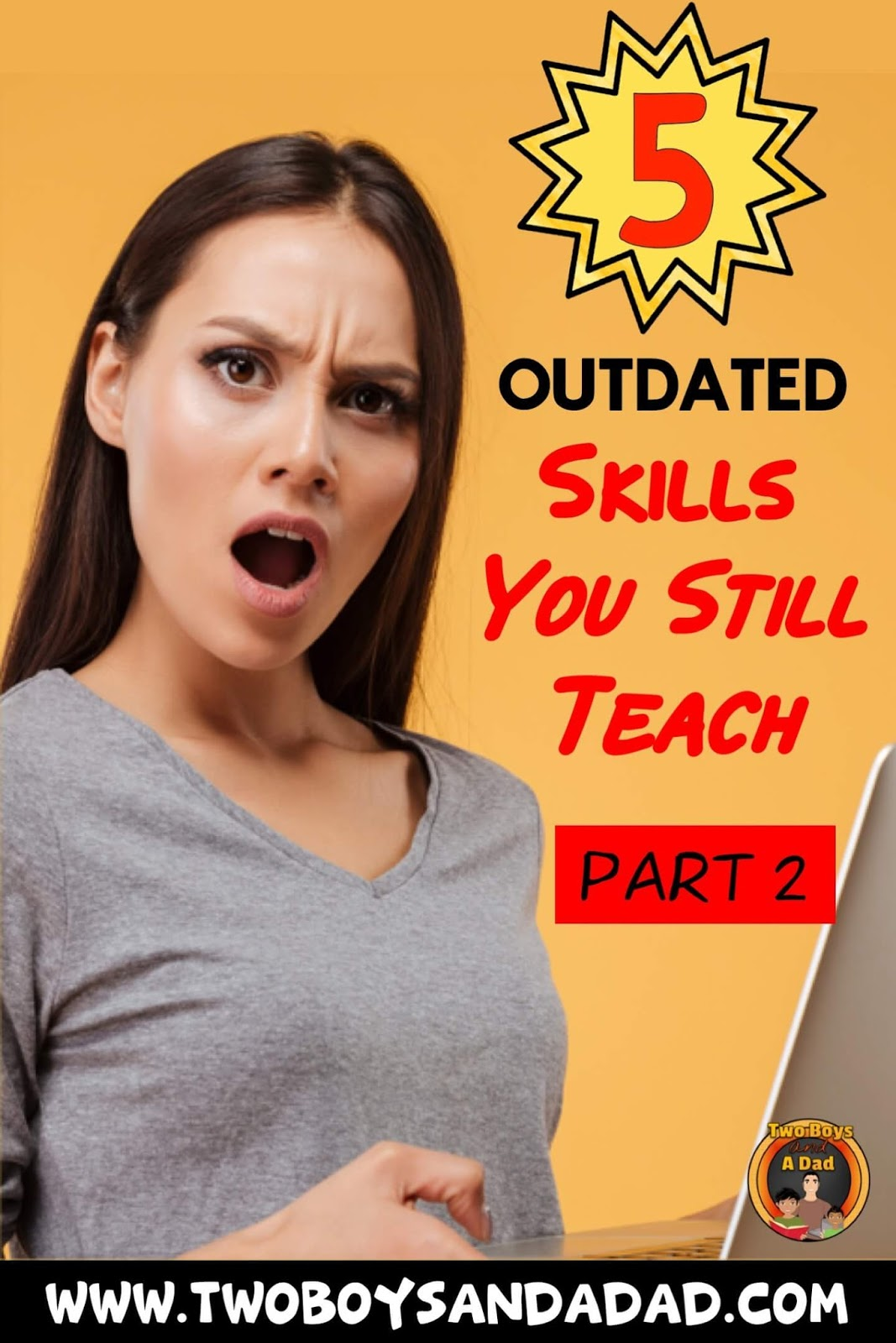 Are we teaching our students outdated skills?