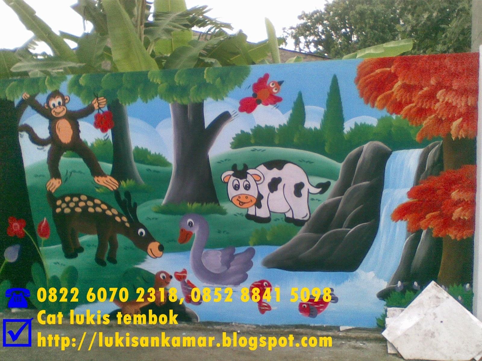 Lukisan Dinding Sekolah Sd Sabalukisan