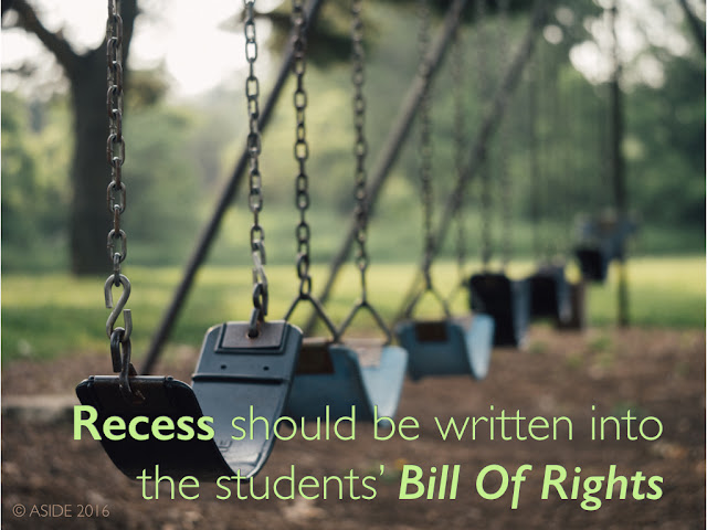 Recess Rescue: Why Play Time Should Be Written Into The Students' Bill Of Rights