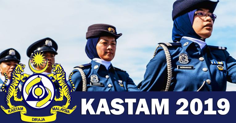 Permohonan Terbuka Jawatan di Jabatan Kastam DiRaja Malaysia JKDRM - Terbuka Lelaki & Wanita