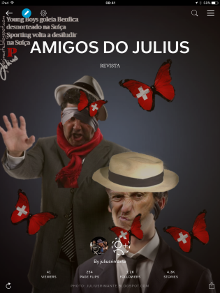 JULIUS NO FACEBOOK