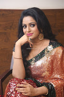 Udaya Bhanu lookssizzling in a Saree Choli at Gautam Nanda music launchi ~ Exclusive Celebrities Galleries 014.JPG