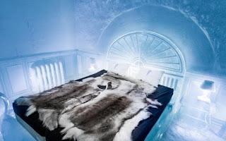 Vẻ đẹp ấn tượng bên trong khách sạn băng giá ở Thụy Điển 3