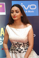 Actress Pooja Salvi Stills in White Dress at SIIMA Short Film Awards 2017 .COM 0064.JPG