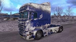 Snowy Scania skins