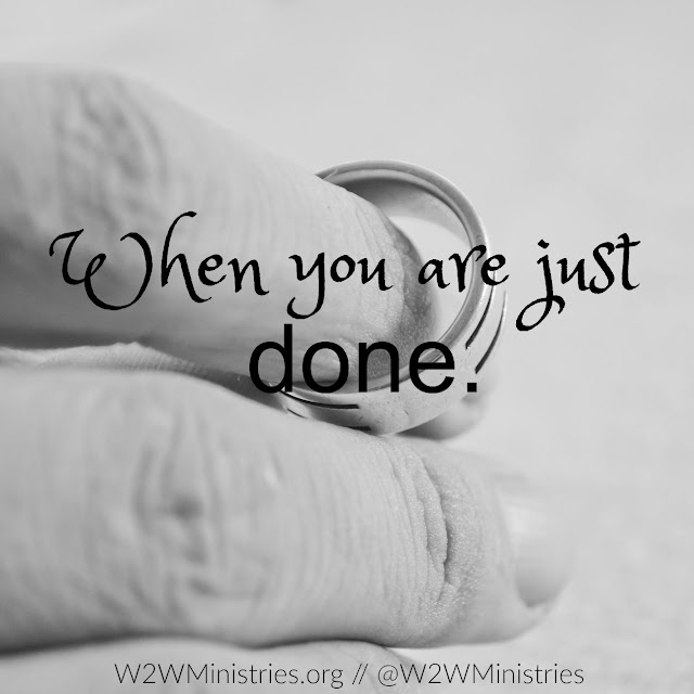 What to do when you are just done in your marriage. #marriage #marriagemonday #wife #husband #divorce #seperation