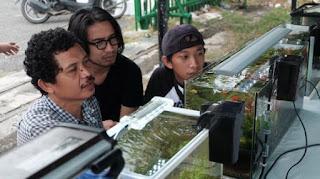 Komunitas Aquascape Balikpapan Ramaikan CFD Lapangan Merdeka