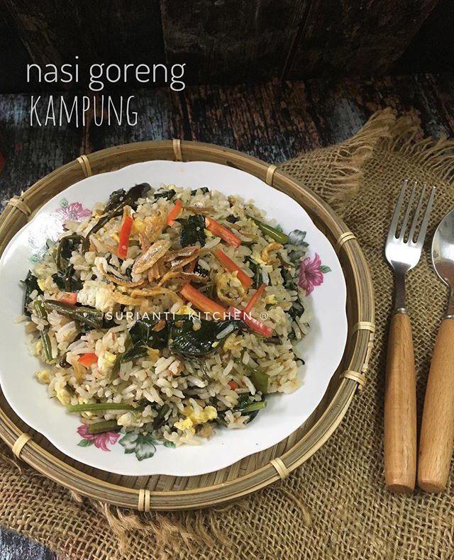 Nasi Goreng Kampung Yang Mudah Dan Sedap