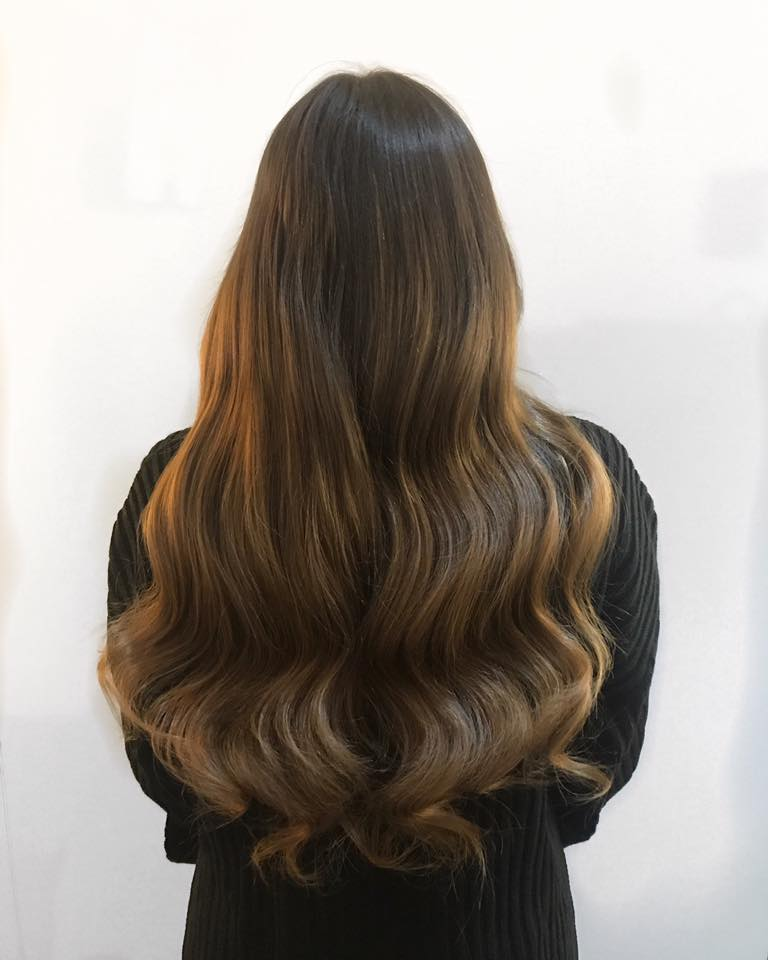 Kayleigh Anderson Show Beauty Hair Lingerie