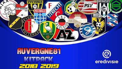 PES 2013 Eredivisie Kitpack Season 2018/2019 by Auvergne81 Kitmaker