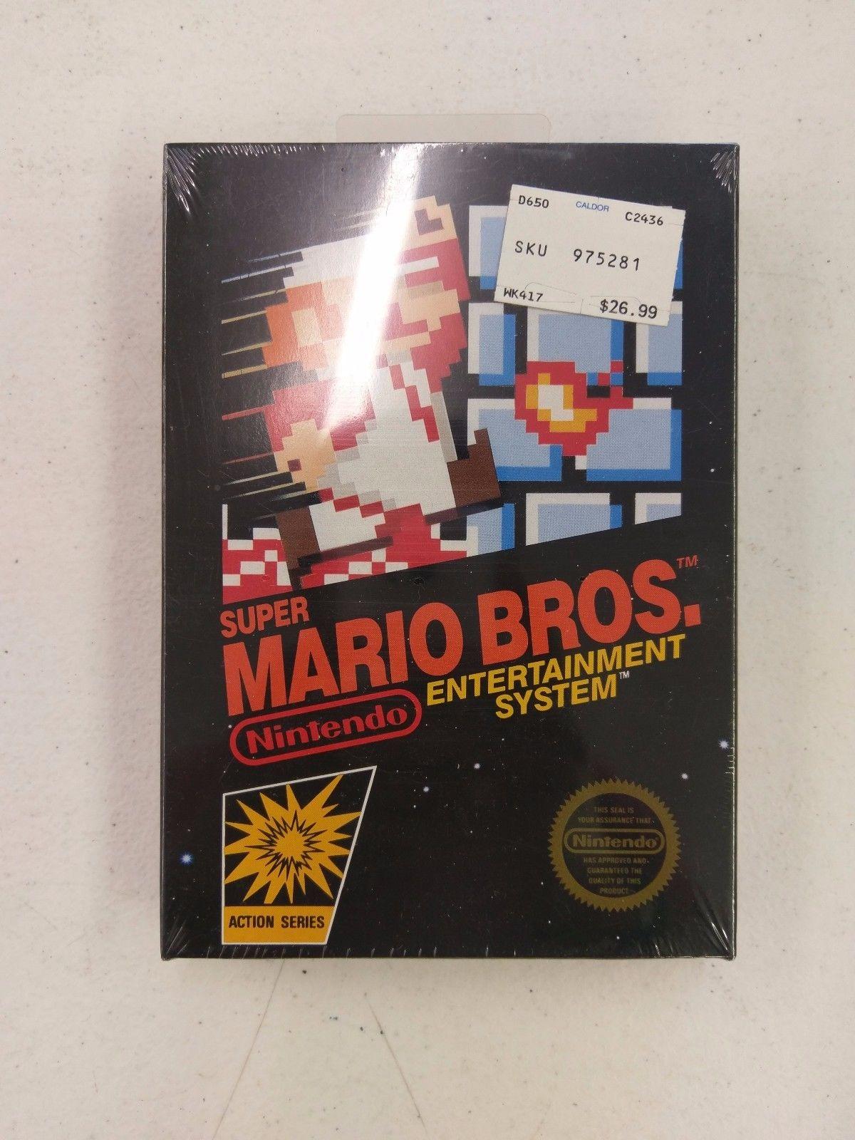 Se vende copia original de Super Mario Bros por más de 30.000 dólares