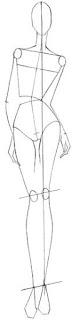 Cara Mudah Sketsa Gaun Tanpa Lengan