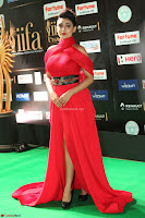 Apoorva in a Stunning Tight Leg Split Sleeveless Red Gown at IIFA Utsavam Awards 028.JPG