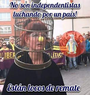 Cataluña , locos de remate