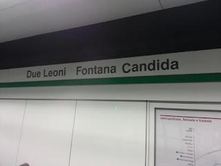 Metro C - Fontana Candida