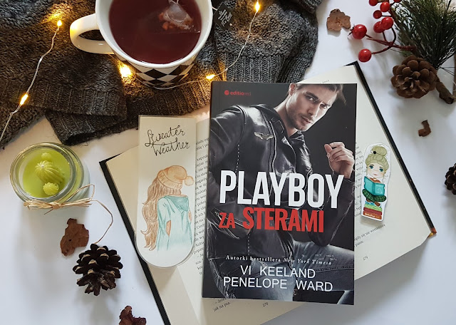 """Playboy za sterami"" Vi Keeland, Penelope Ward"