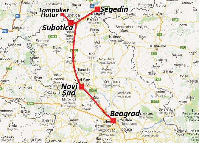 mapa srbije i madjarske Putriota: Kupovina u Mađarskoj mapa srbije i madjarske