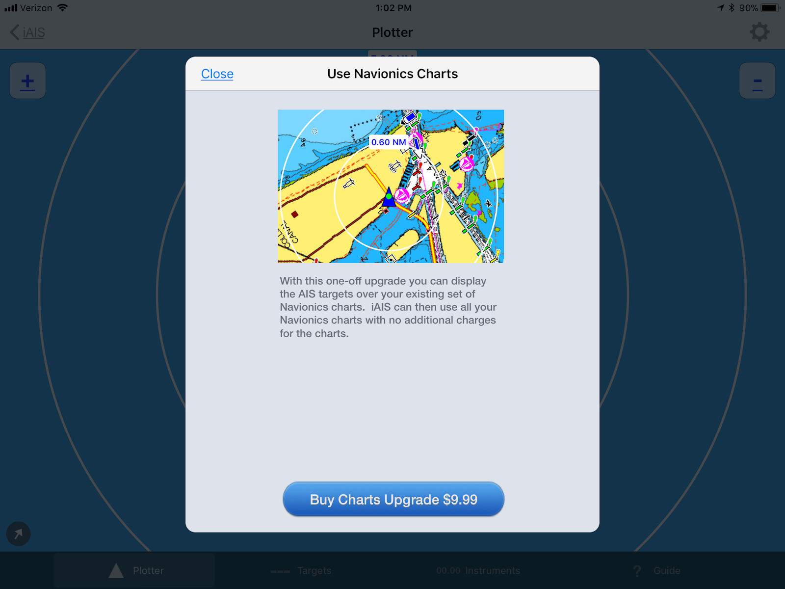 i-Marine Apps: Digital Yacht iAIS with Navionics Charts