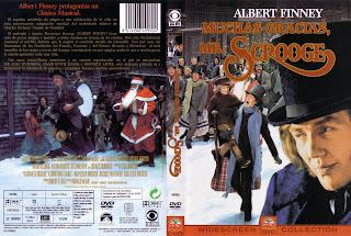 Carátula dvd: Muchas gracias, Mr. Scrooge