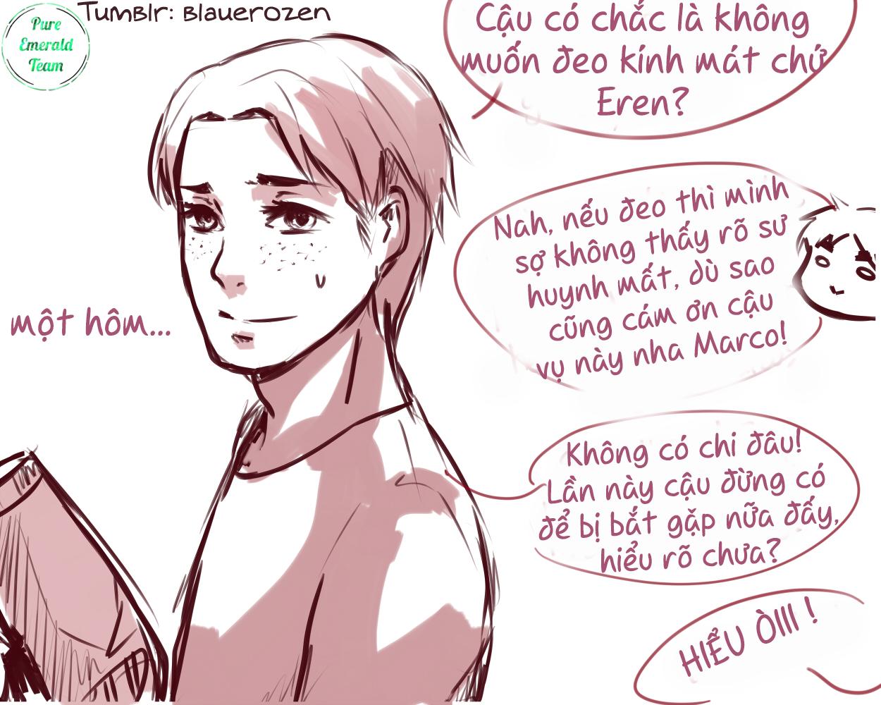 [Pure Emerald] - Tên nhóc đẹp trai và khó ưa đó - Tác giả Blauerozen - Trang 16