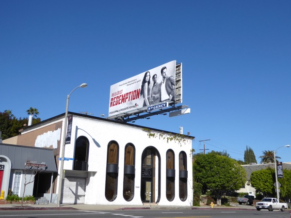 Blacklist Redemption TV billboard